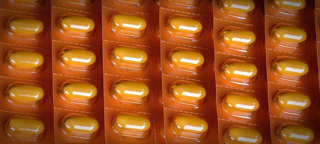 žluté tablety